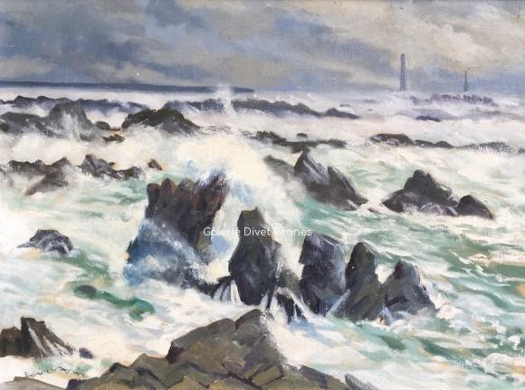 La Bretagne, les phares en Finistère