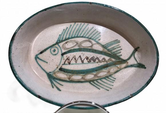 Plat au poisson