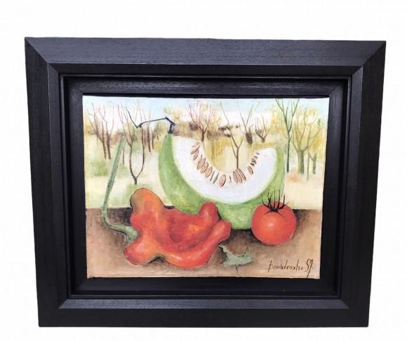 Nature morte au poivron